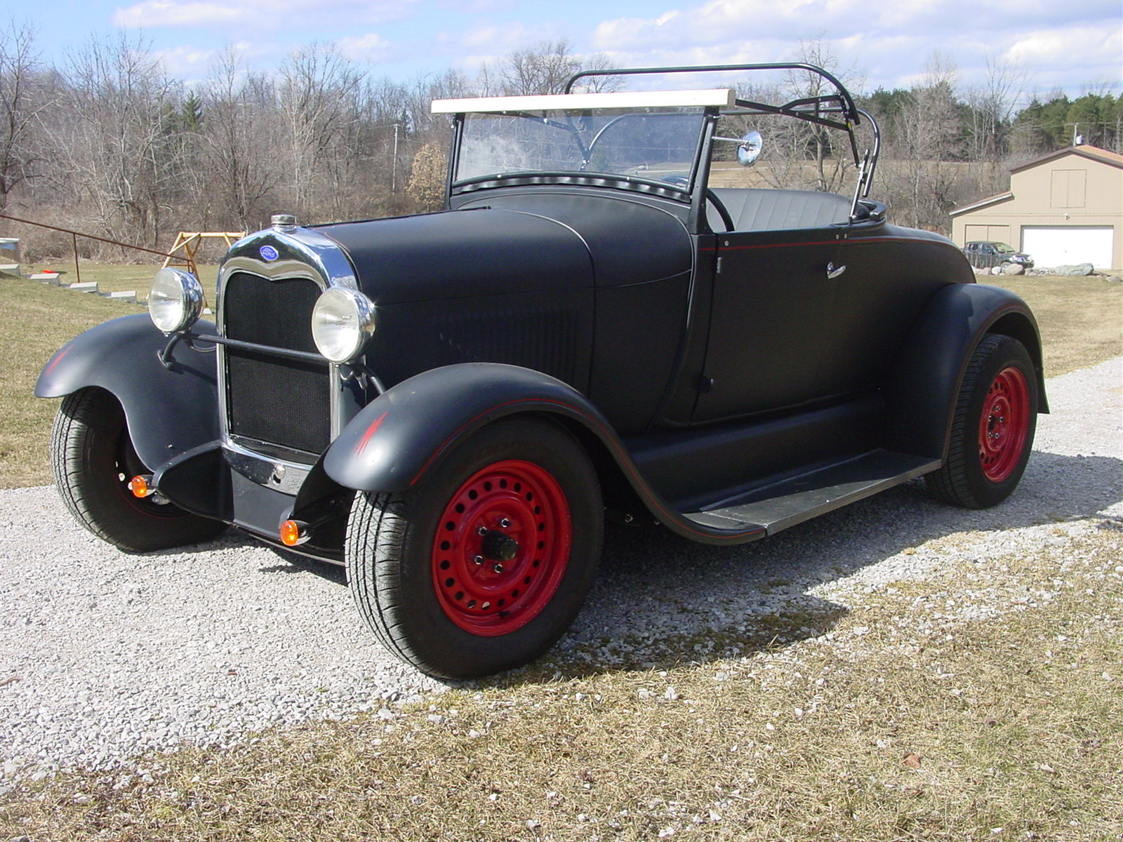1929 Ford Model A Roadster Hot Rod 302 Ford For Sale