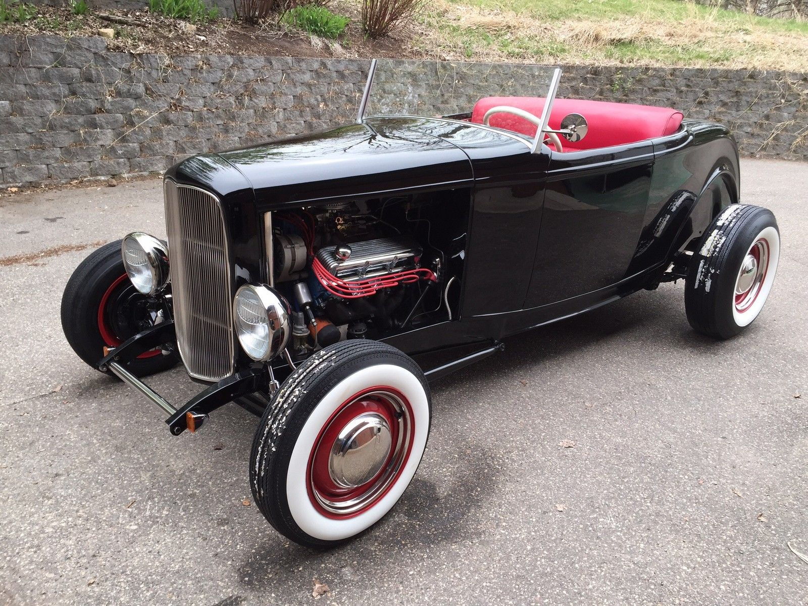1932 ford roadster highboy 351 cleveland for sale. Black Bedroom Furniture Sets. Home Design Ideas