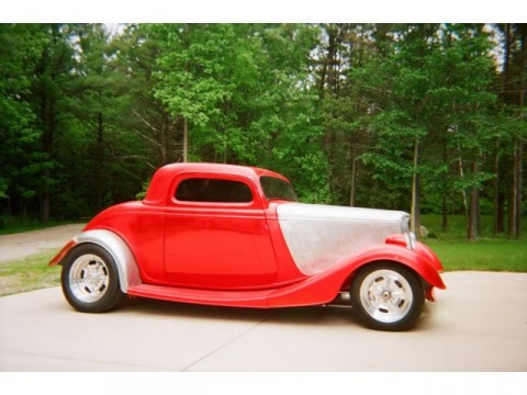 1933 Ford 3 Window Street Rod Barn Find for sale