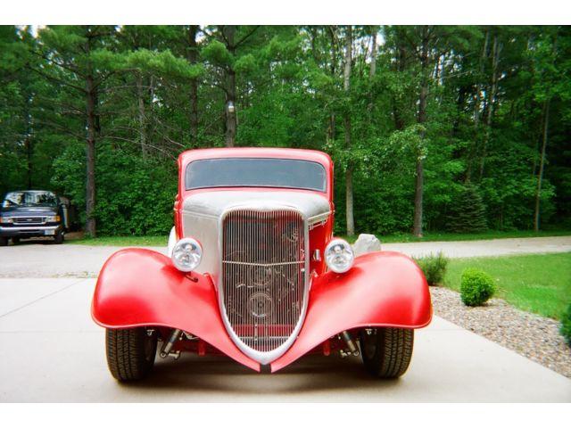1933 Ford 3 Window Street Rod Barn Find
