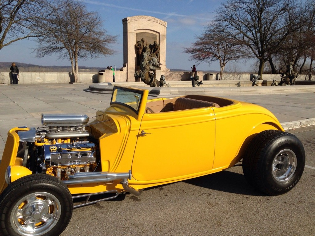 1933 Ford Roadster Street Hot Rod Convertible Cabriolet Magazine Car Resto