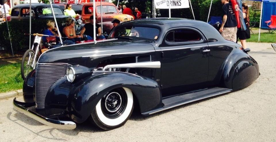 1939 Chevrolet Coupe Hot Rod
