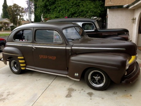 1946 Ford 2 door Sedan all steel hot rod for sale