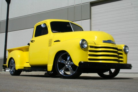 1953 Chevrolet 3100 5 Window Custom Pickup for sale