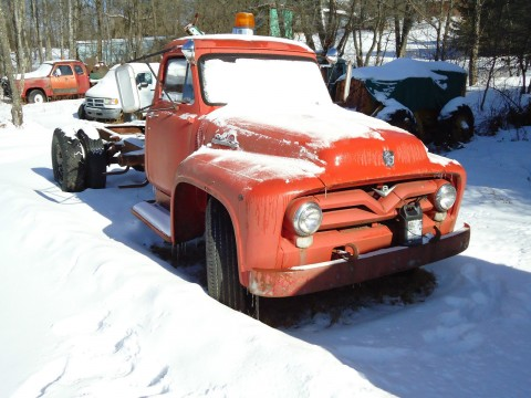 1955 Ford F700 Truck Flatbed Hot Rod Rat Rod for sale