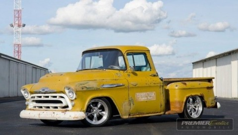 1957 Chevrolet Pickup Patina Hot Rod for sale