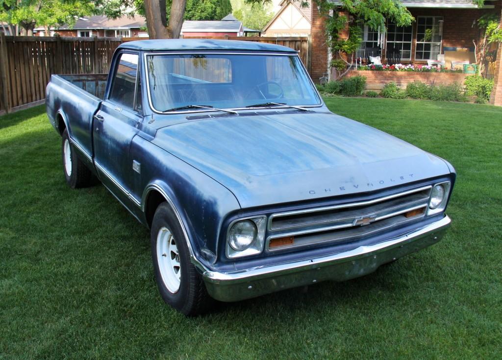 1967 Chevrolet C20 Pickup Custom Camper For Sale