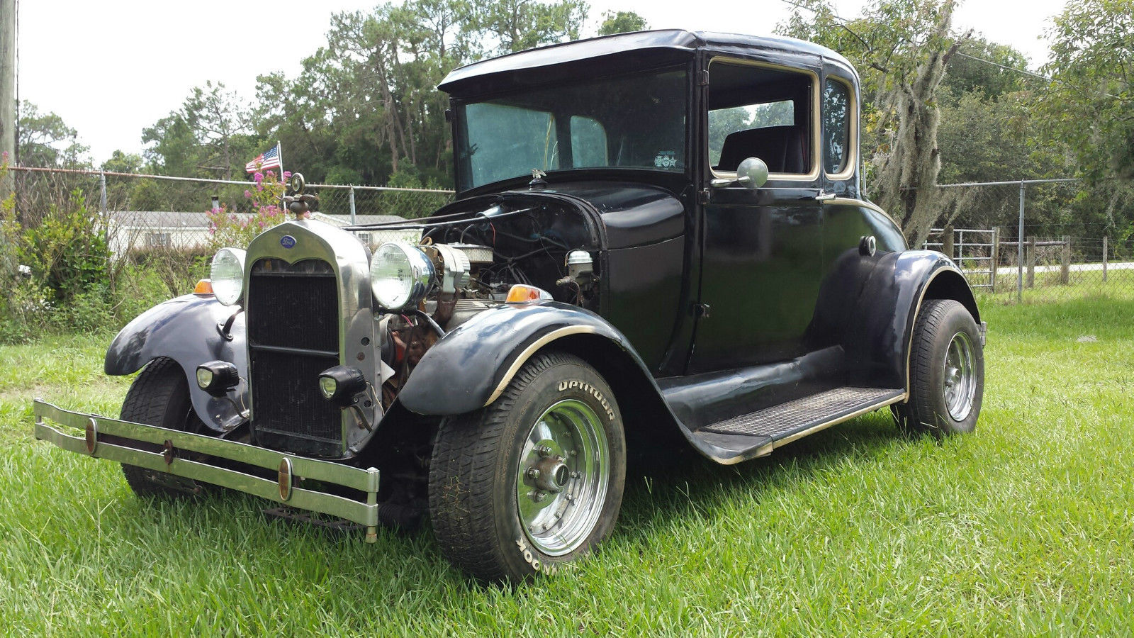 1929 Ford Model A Hot Rod Project For Sale