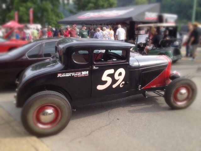 1929 ford model a coupe chopped steel hot rod for sale