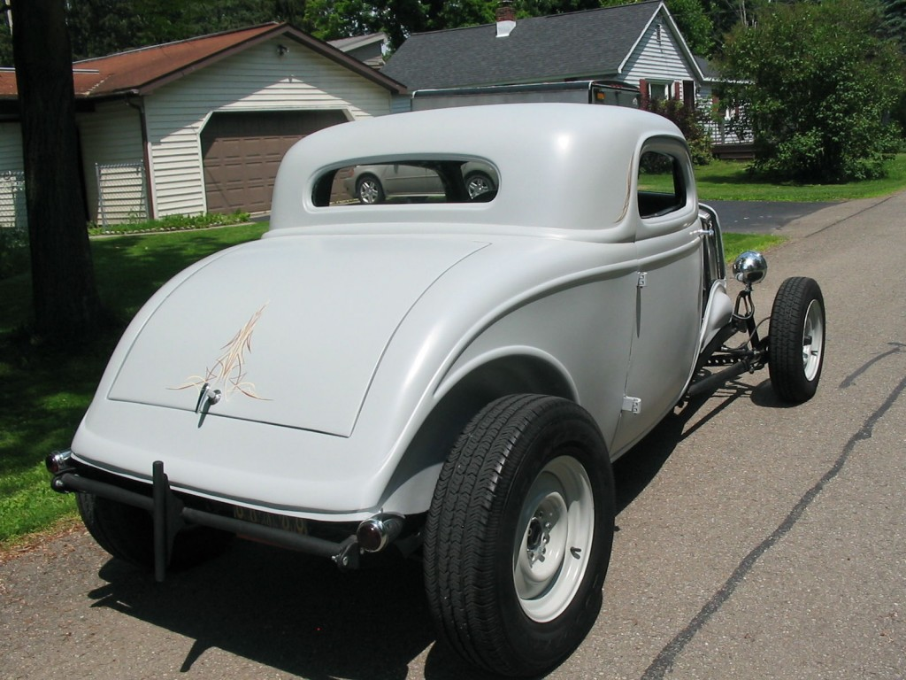 1934 ford 3 window coupe old school hot rod original henry for 1934 3 window ford coupe