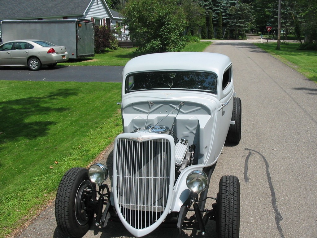 1934 Ford 3 Window Coupe Old School Hot Rod Original Henry Ford ...