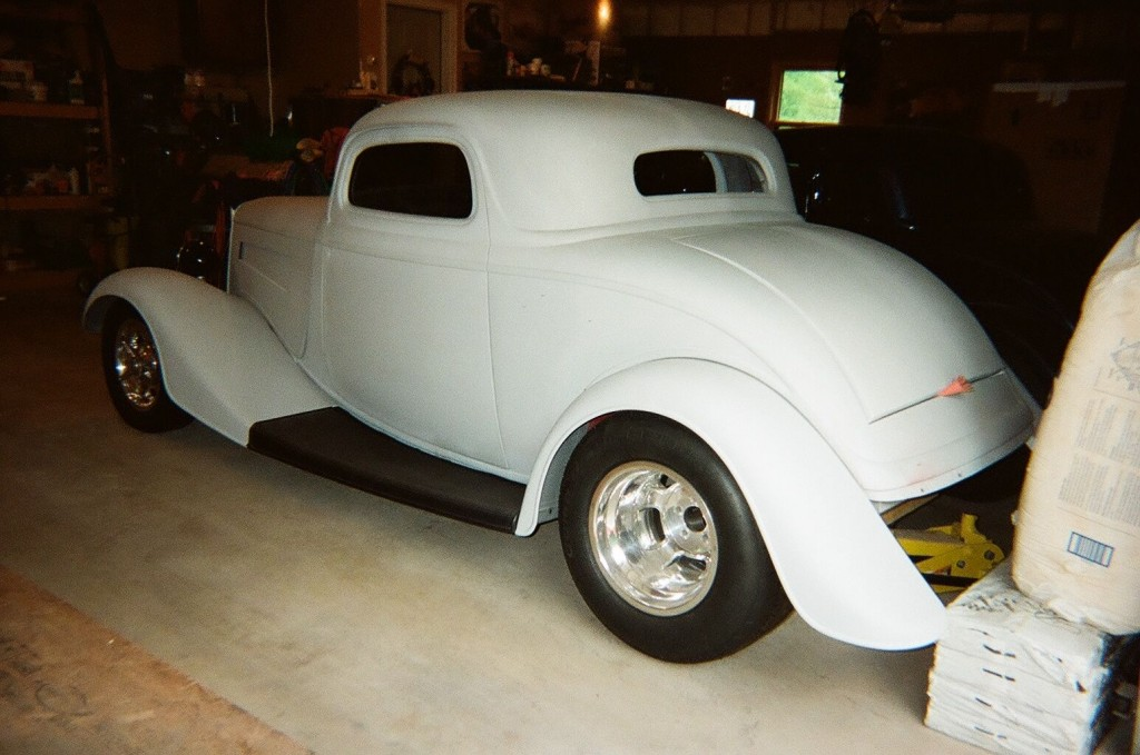 Ford 1934 project for sale autos post for 1934 ford three window coupe for sale