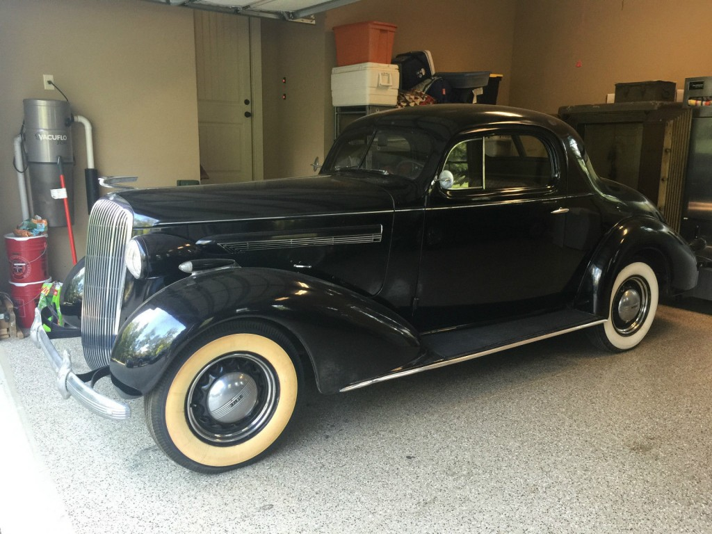 1936 Buick Special Coupe Style 36 4477b For Sale