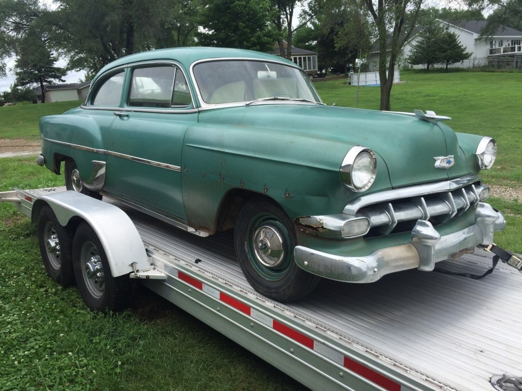 1954 chevrolet 210 barn find for sale for 1954 chevy 210 2 door