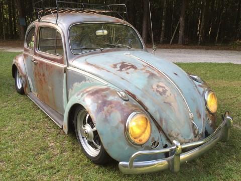 1961 Volkswagen Beetle Patina Rat Rod Hot Rod for sale