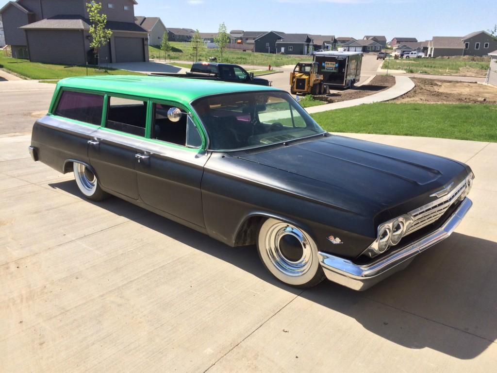 1962 chevrolet biscayne wagon for sale. Black Bedroom Furniture Sets. Home Design Ideas