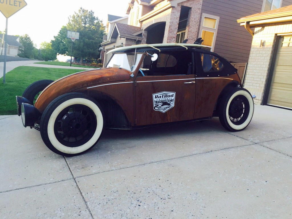 1969 Volkswagen Beetle Classic Rat Rod Custom For Sale
