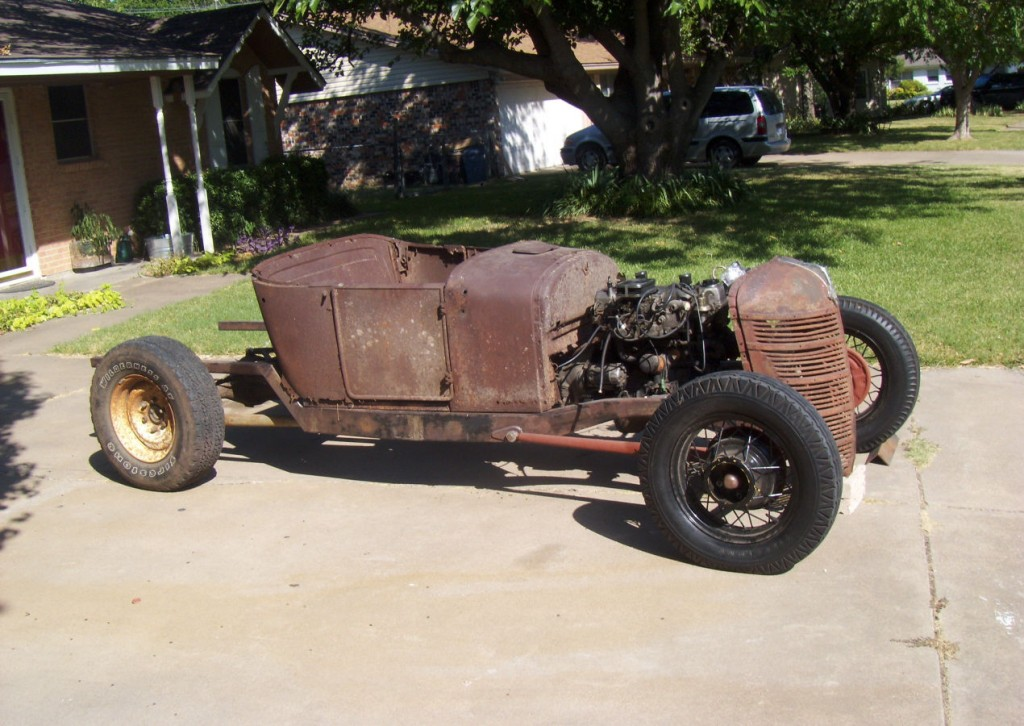 1926 Ford Model T Roadster Hot Rod project for sale