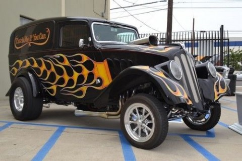1933 Willys Sedan Delivery Gasser Hot Rod for sale