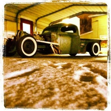 1950 Ford F1 Rat Rod P/U 350 air ride for sale