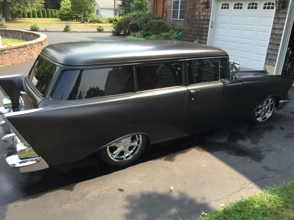 1957 Chevy Wagon Hot Rod Low Ride For Sale