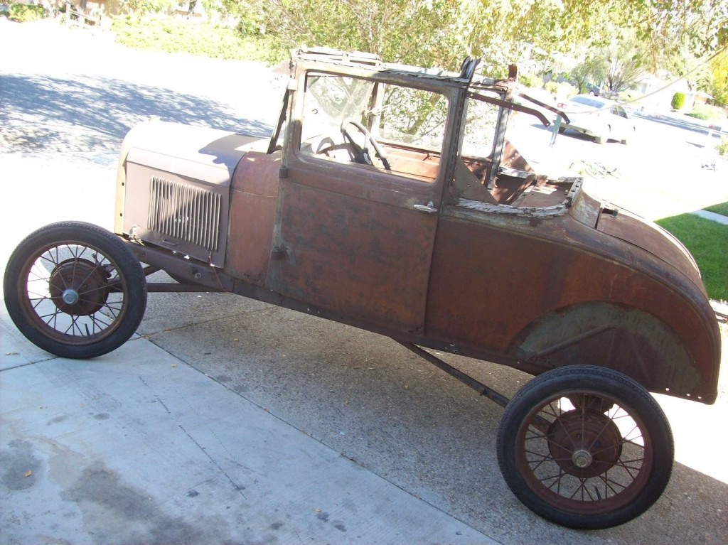 1928 Ford Model A Sport Coupe Roller Banger