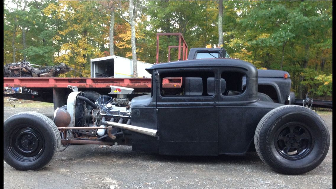 1931 ford model a 3 u2033 chop rat hot rod all ford custom t5