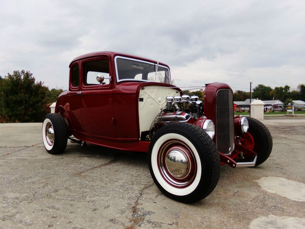1932 ford 5 window coupe duece hot rod for sale. Black Bedroom Furniture Sets. Home Design Ideas