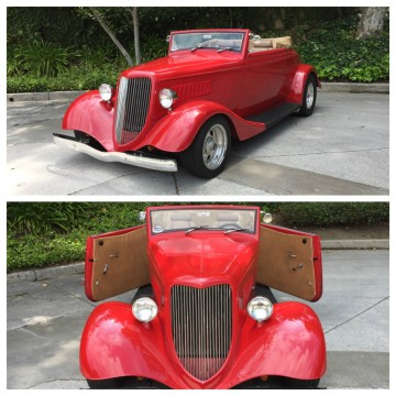 1934 Ford Cabriolet Street Rod for sale