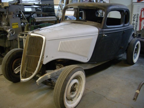 1934 Ford coupe Original Steel hot rod rat rod for sale