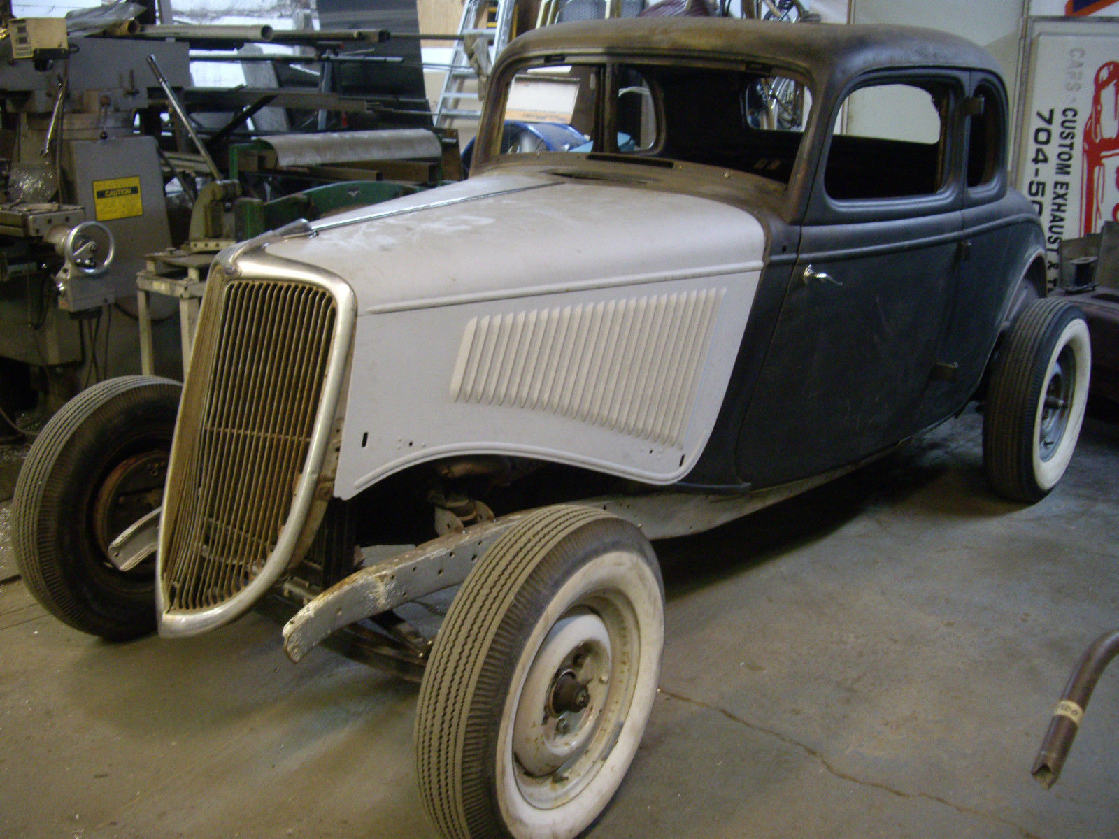 1934 ford coupe original steel hot rod rat rod for sale for 1934 5 window coupe for sale