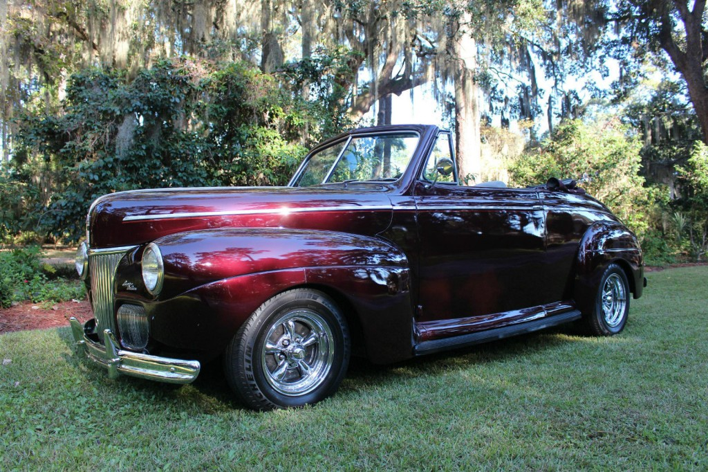 1941 Ford Super Deluxe Black Cherry