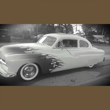 1951 Mercury LEAD SLED 50'S HOT ROD Restored for sale