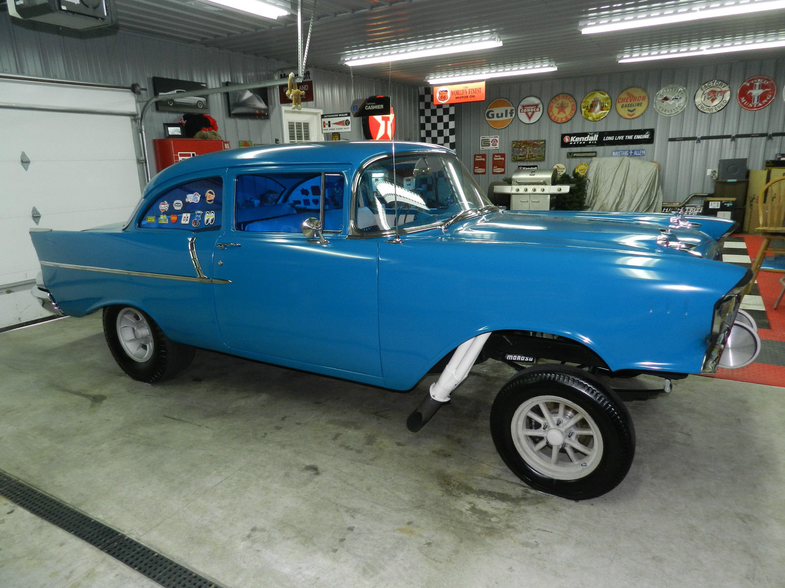 1957 Chevy Gasser / High End Build / 512ci BBC / 4sp / Hot ...
