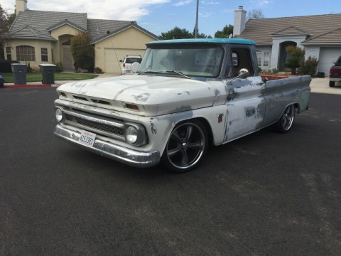 1964 Chevy C10 Short BED Fleetside Pickup Patina SHOP Truck HOT ROD V8 for sale