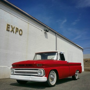 1965 Chevy LONG BED Fleetside 3/4 TON Pickup RAT HOT ROD Custom for sale