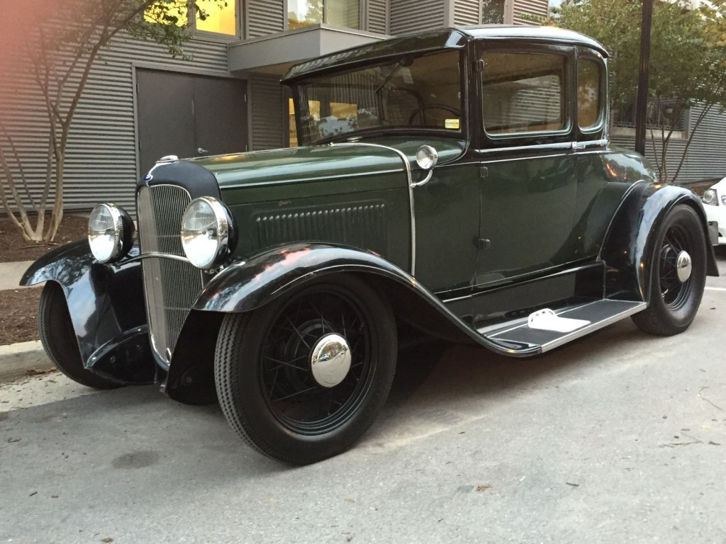 1931 ford model a coupe hot rod for sale. Black Bedroom Furniture Sets. Home Design Ideas