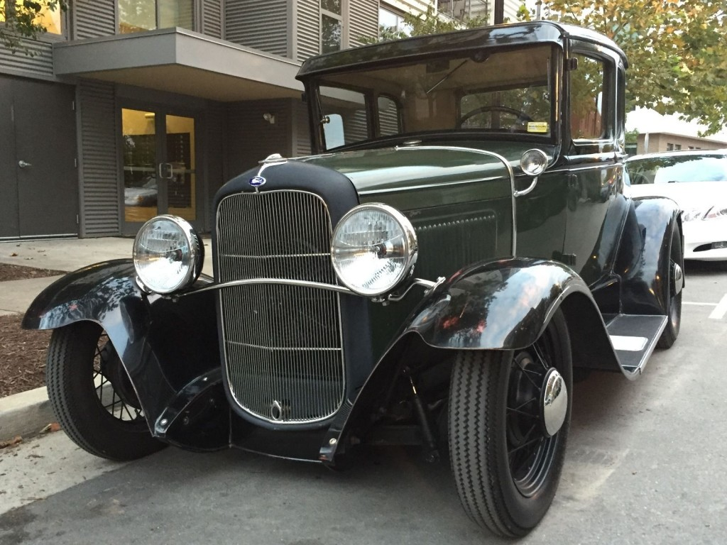 1931 ford model a coupe hot rod for sale. Black Bedroom Furniture Sets. Home Design Ideas
