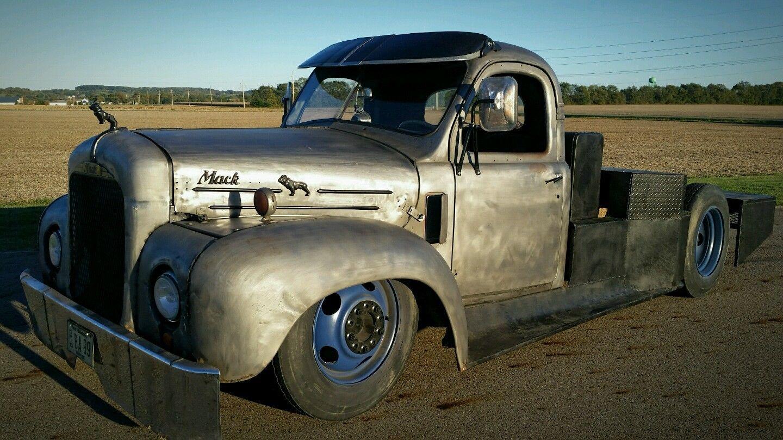 1953 Mack Ratrod Hotrod Bagged Rat Custom Truck Big Block