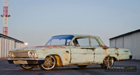 1962 Chevrolet Biscayne * Hot Rod * Patina * Air Ride for sale