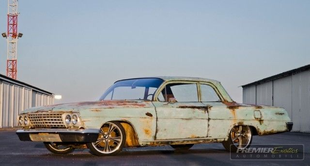 1962 Chevrolet Biscayne Hot Rod Patina Air Ride For Sale
