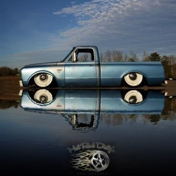 1967 Chevy C10 Hot Rat Street Rod Pro Touring LS Accuair Air Ride Bagged Patina for sale