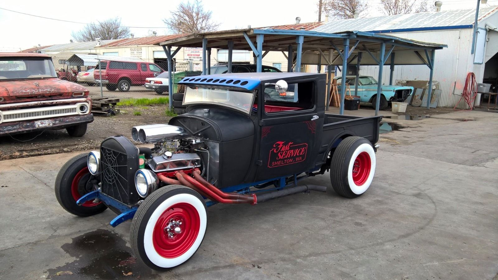 1929 Ford Model A Pickup Truck Rat Rod For Sale