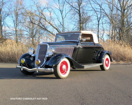 1934 Ford Rumbleseat old school hot rod for sale
