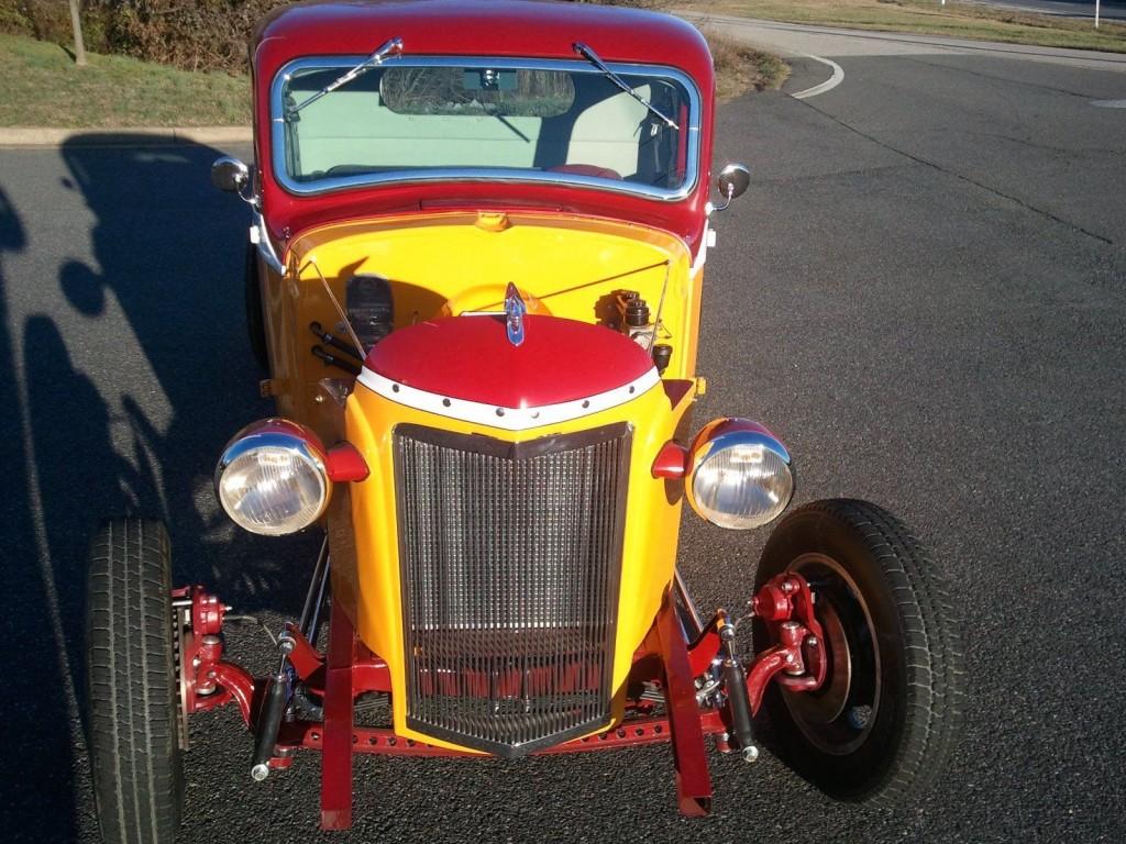 1938 GMC Pickup Redskins Hot Rod