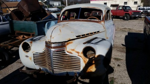 1941 chevy special deluxe 2 door rat rod for sale