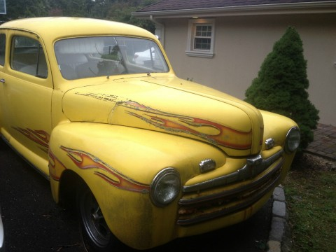 1946 ford tudor hot rod for sale