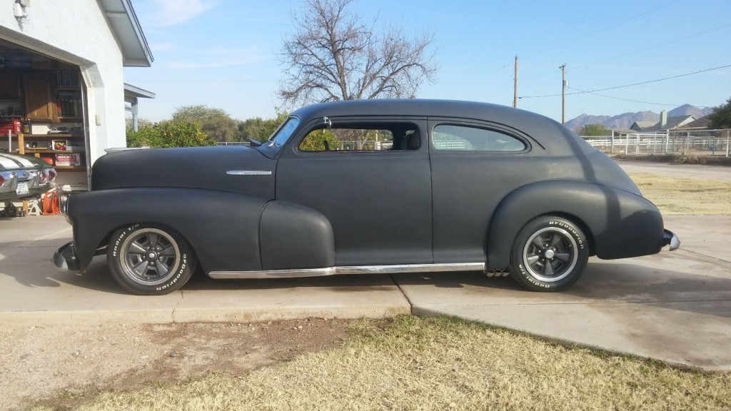 1947 Chevy Sedan Chopped Rat Rod Hot Rod