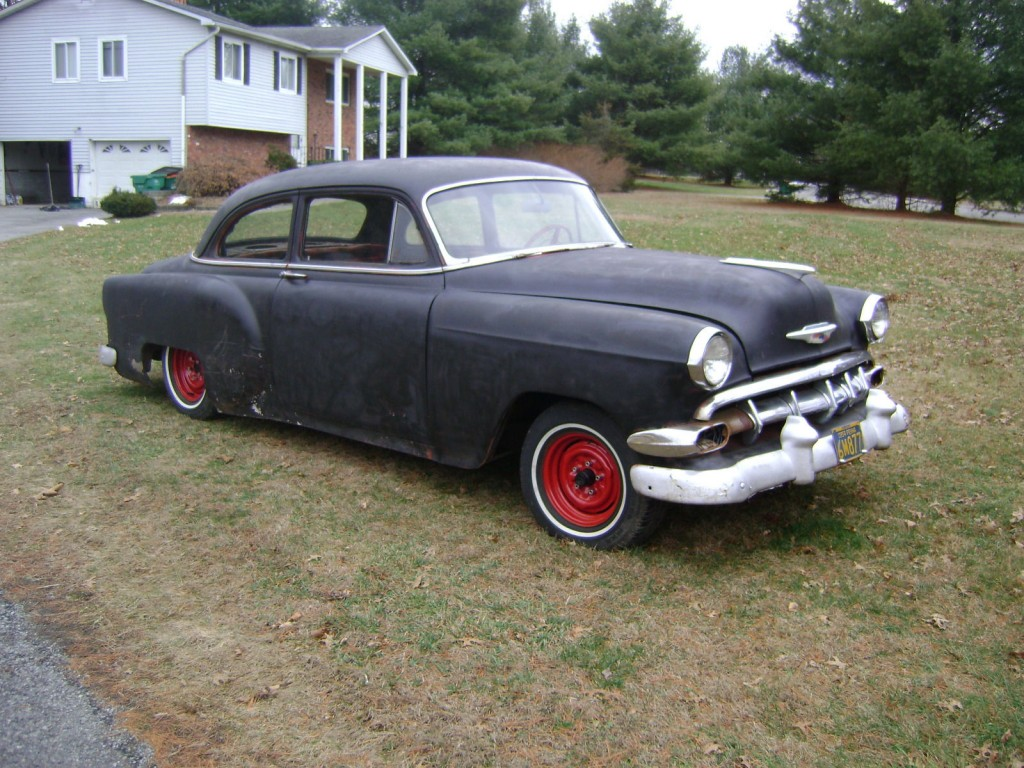 1953 chevy rat rod hot rod for sale