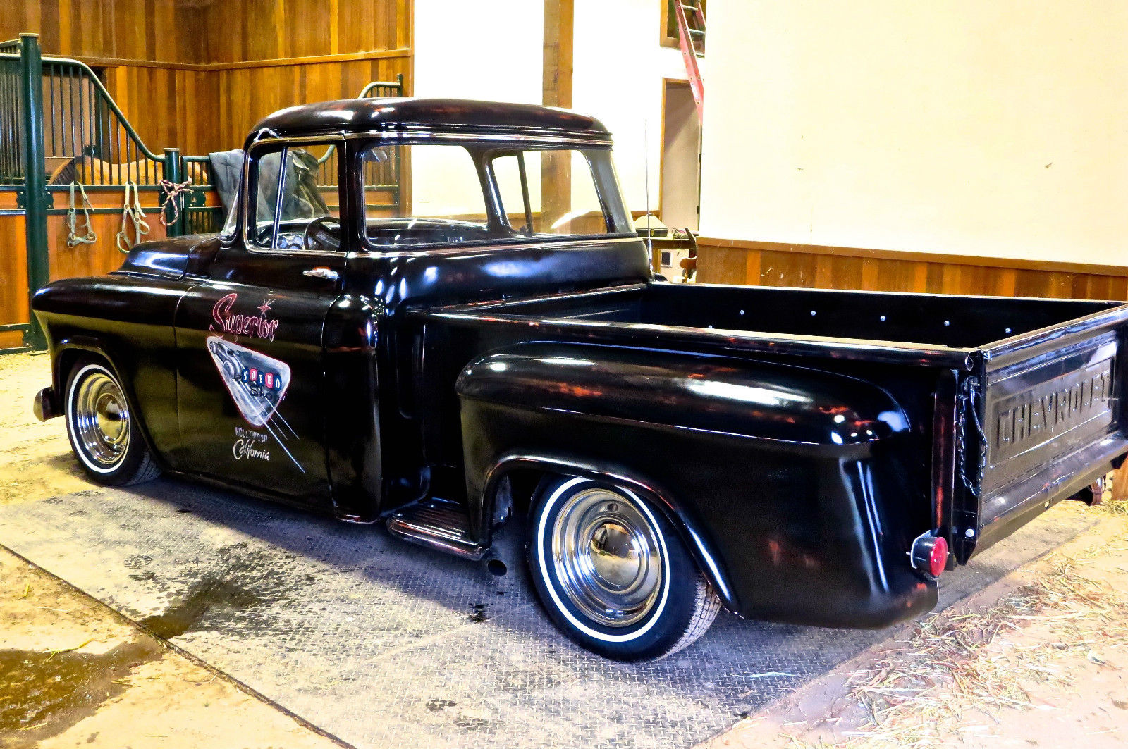 1956 Chevrolet 3100 Big Window Short Bed Truck Hot Rod For